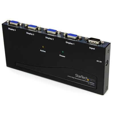 StarTech.com ST124PROEU video splitters