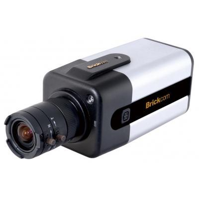 Brickcom FB-100AE, LED, 1MP, H.264/MPEG-4/MJPEG, PoE Beveiligingscamera - Zwart, Zilver