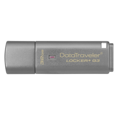 Kingston Technology DataTraveler Locker+ G3 32GB USB flash drive - Zilver