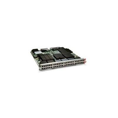Cisco netwerk switch module: 6800 Series 48-Port 1 Gigabit Copper Ethernet Module with DFC4, Spare