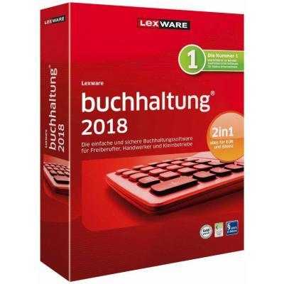 Lexware financiele analyse-software: Buchhaltung 2018, ESD