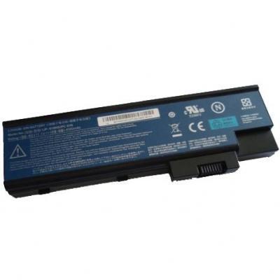 Acer batterij: BT.00604.005 - Zwart