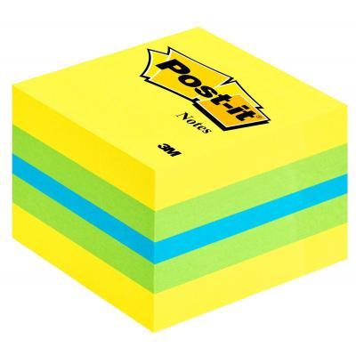 3m etiket: Post-it 2051L - Groen, Turkoois, Geel