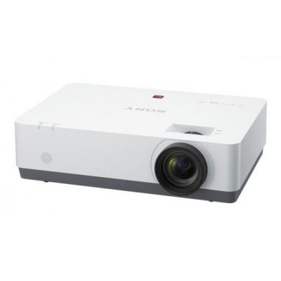 Sony beamer: 3 LCD, 3072000 (1280x800 x 3) px, 3800 lm, 3700:1, 15 kHz - 92 kHz, RJ-45, USB - Wit