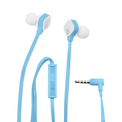 HP H2310 blauwe oortelefoon Headset