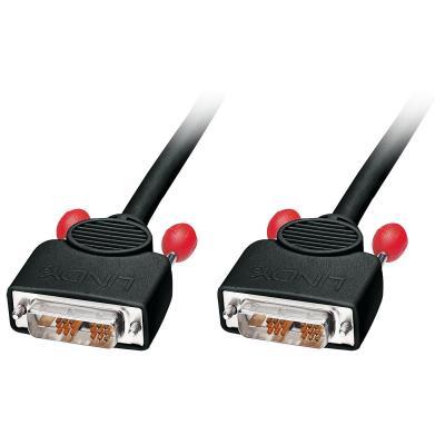 Lindy DVI kabel : 36606 - Zwart