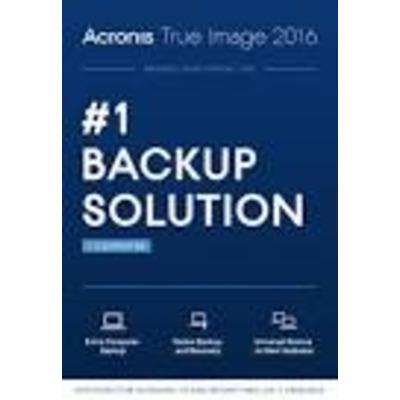 Acronis True Image Subscription 1 Computer 1 year subscription ESD Antivirus- & beveiligingssoftware