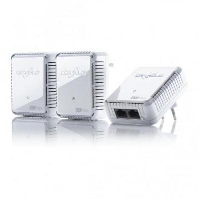 Devolo netwerkkaart: dLAN 500 duo Network Kit - Wit