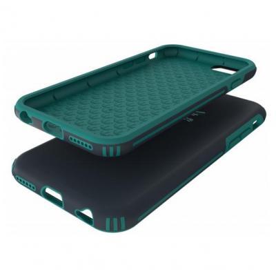 Adidas mobile phone case: Cover Rugged, Grijs, voor Apple iPhone 6/6S - Groen, Grijs
