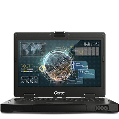 Getac S410 Laptop - Zwart