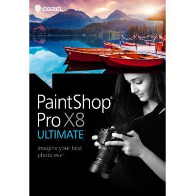 Corel grafische software: PaintShop Pro X8 Ultimate