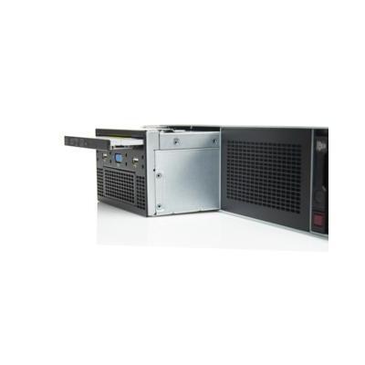 Hewlett packard enterprise brander: DL360 Gen9 SFF DVD/USB Universal Media Bay Kit - Zwart, Grijs