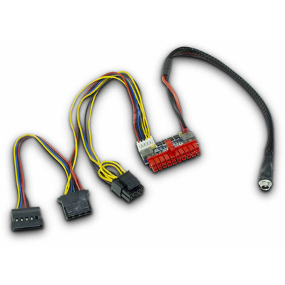 Inter-Tech Mini-ITX PSU 120W DC/DC Rev. 2 - Multi kleuren