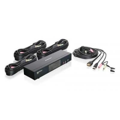 Iogear 4-Port HDMI Multimedia KVMP Switch with Audio KVM switch