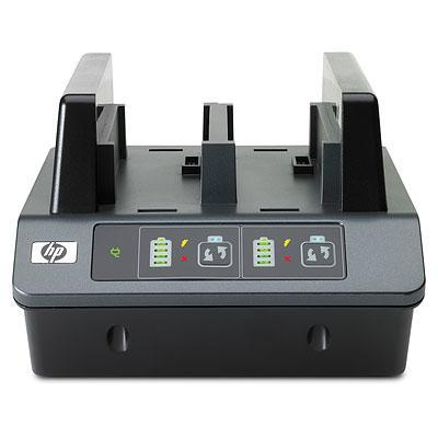 Hp oplader: 2-bay Battery Charging Station - Requires use of one Battery Adapter Kit for each battery slot (not .....
