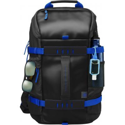 Hp rugzak: 15,6-inch zwart/grijs Odyssey-backpack - Zwart, Grijs