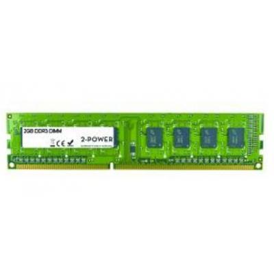 2-power RAM-geheugen: 2GB DDR3 DR DIMM - Groen
