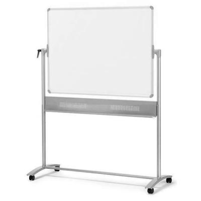Nobo whiteboard: Mobiel Kantelbord Magnetisch Staal 1500x1200mm - Wit