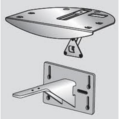 POLY 2215-24143-001 Muur & plafond bevestigings accessoire - Zwart