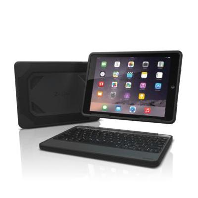 Zagg mobile device keyboard: Rugged Book - Zwart