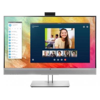 """HP EliteDisplay E273m 27"""" FHD IPS (ingebouwde webcam) Monitor - Zwart,Zilver"""