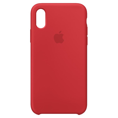 Apple Siliconenhoesje voor iPhone XS - (PRODUCT)RED mobile phone case - Rood