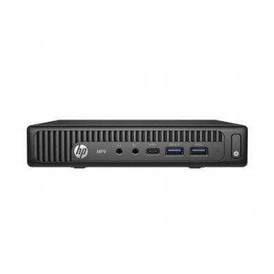 Hp POS terminal: MP9 G2 retailsysteem - Windows 7 - Intel® Core™ i3 - Zwart