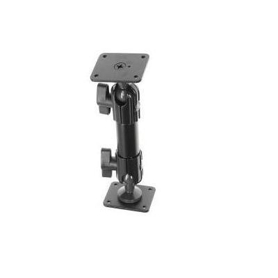 Brodit 50 x 42 mm, Black, 2 kg max Montagekit - Zwart
