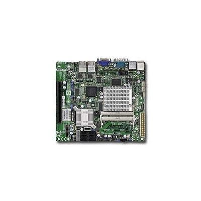Supermicro server/werkstation moederbord: MBD-X7SPE-HF-D525-O, Intel Atom D525, Intel ICH9R, 2 x 204pin SO-DIMM, 6 x .....