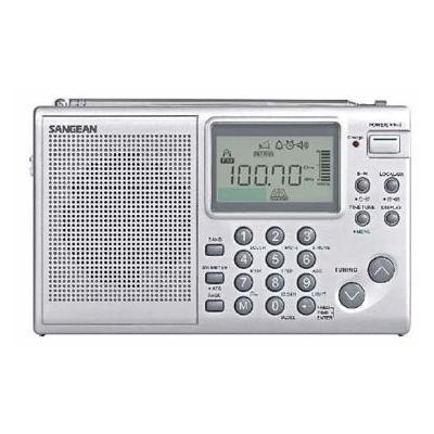 Sangean radio: ATS-405 - Zilver