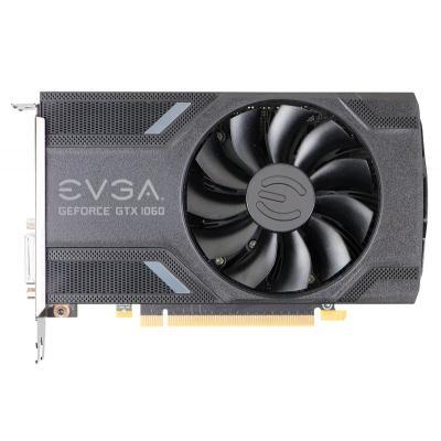 Evga videokaart: GeForce GTX 1060 Gaming 6GB - Grijs, Zilver