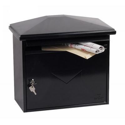 Phoenix postbus: 352 x 392 x 205 mm, Key Lock, 4.5 kg, Black - Zwart
