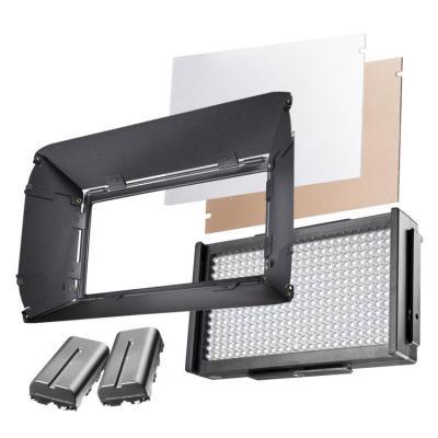 Walimex pro LED Square 312 D Fotostudie-flits eenheid - Zwart