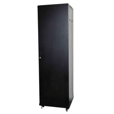 """Lanview 19"""", 42U, 600 x 800 x 2080 mm, 300 Kg max, Steel, Black Rack - Zwart"""