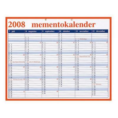 Aurora kalander: Mementoplaat 330x420mm nederlands