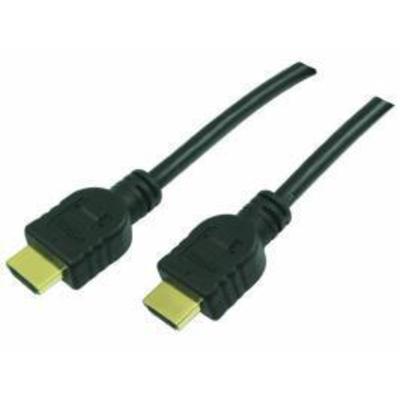 LogiLink HDMI, 10m HDMI kabel - Zwart