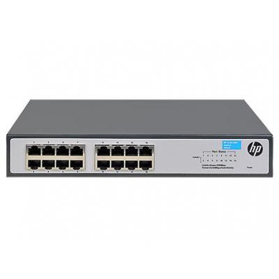Hewlett Packard Enterprise OfficeConnect 1420-16G Switch - Grijs