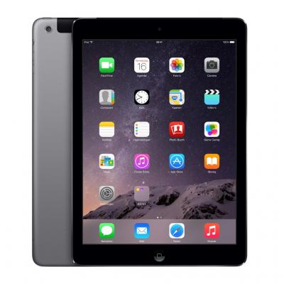Apple tablet: iPad Air 2 Wi-Fi + Cellular 128GB - Space Gray - Grijs