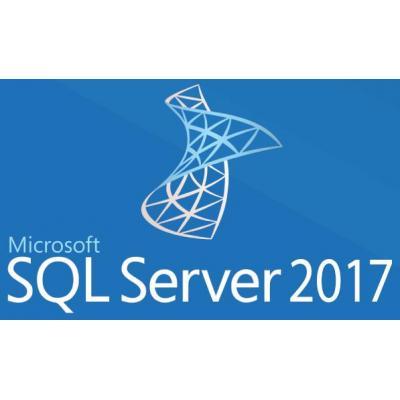 Microsoft SQL Server 2017 Standard software