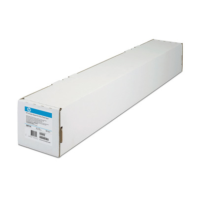 Hp transparante film: 2-pack Everyday Matte Polypropylene 120 gsm-1270 mm x 30.5 m (50 in x 100 ft)