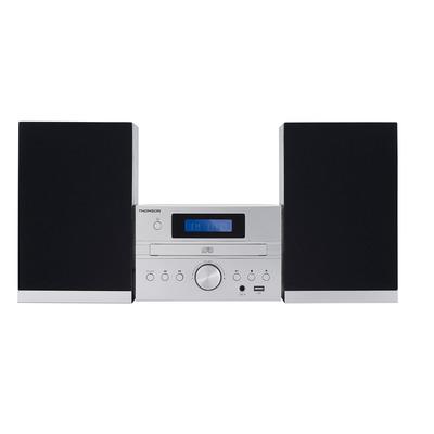 Thomson 50 W, DAB+, Bluetooth, USB Home stereo set - Zilver