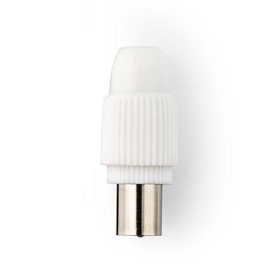 Nedis CSGP40903WT Coaxconnector - Wit