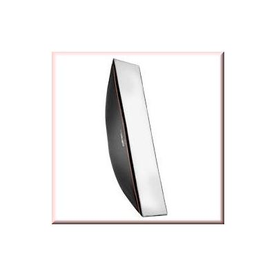 Walimex softbox: pro Softbox OL 30x120cm Multiblitz V - Zwart, Wit