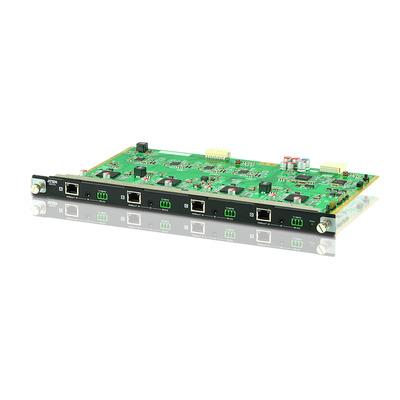 Aten video switch: 4-PORT HDBASET INPUT BOARD FOR VM1600 - Zwart, Groen