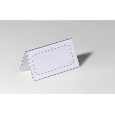 Durable naambadge: Tafelnaambordjes van Hardfolie, Transparant