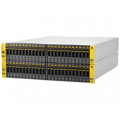Hewlett Packard Enterprise StoreServ 7400c SAN - Zwart, Geel