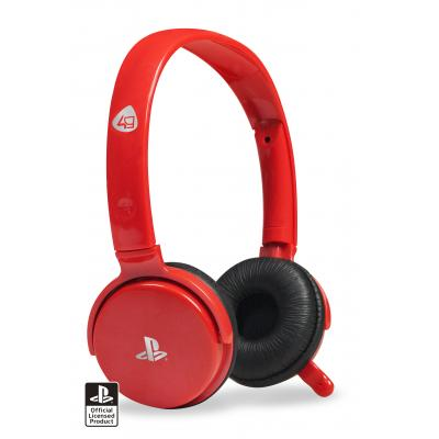 4gamers game assecoire: CP-01RED Stereo Gaming Headset (Rood)  PS3
