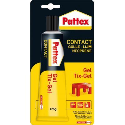 Pattex lijm: Contactlijm Tix-Gel - Zwart, Geel