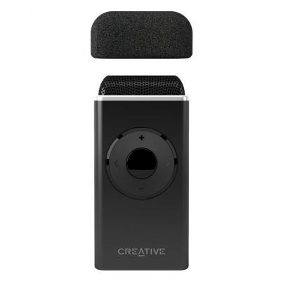 Creative labs microfoon: iRoar Mic - Zwart