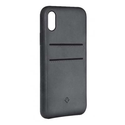 TwelveSouth RelaxedLeather Mobile phone case - Grijs